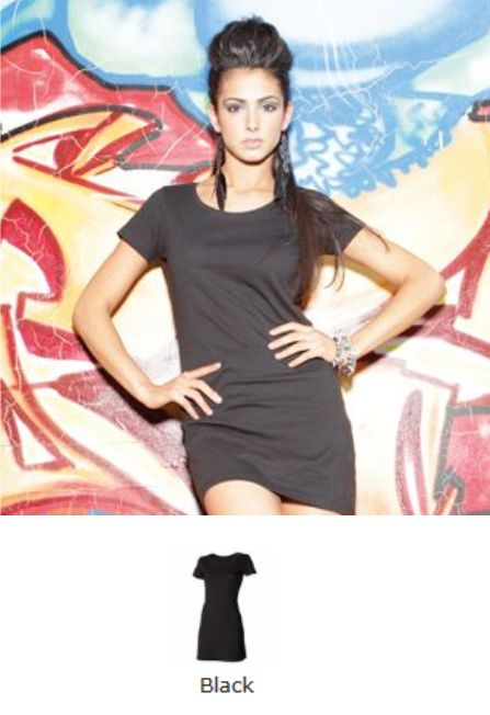 Skinnifit Sk257 Tee Shirt Dress