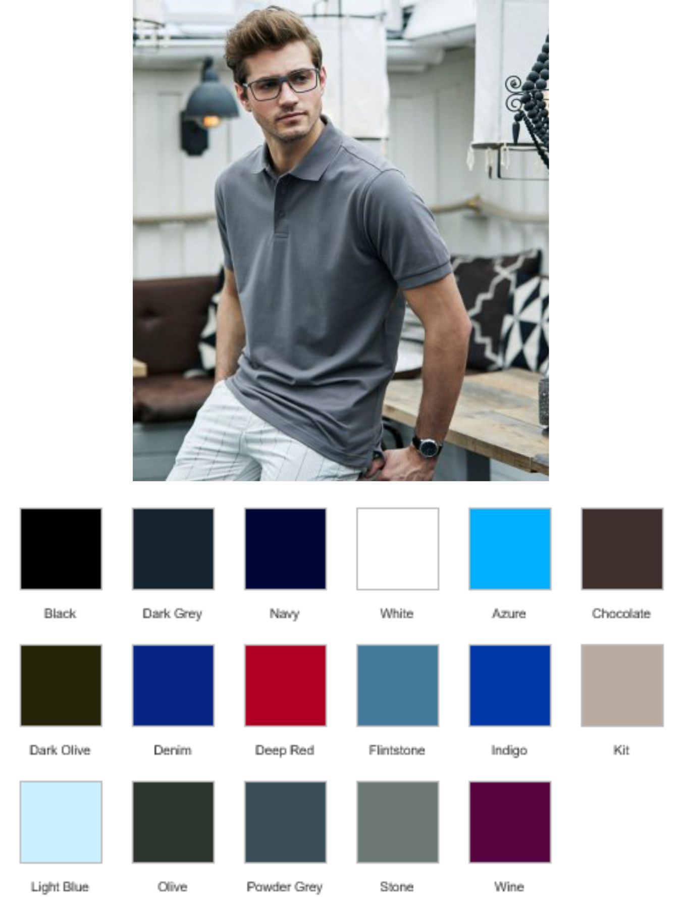 Tee Jays T1405 Luxury Stretch Pique Polo Shirt