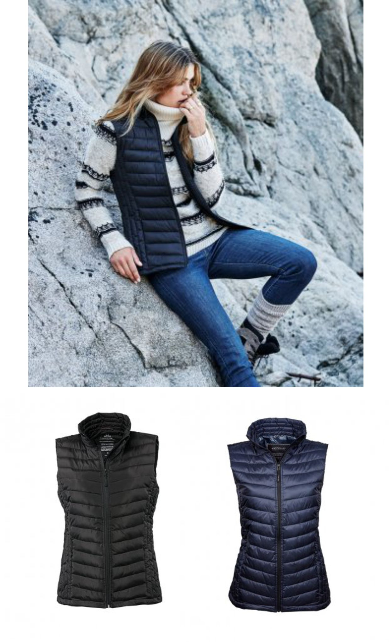 Tee Jays T9633 Ladies Zepelin Padded Bodywarmer