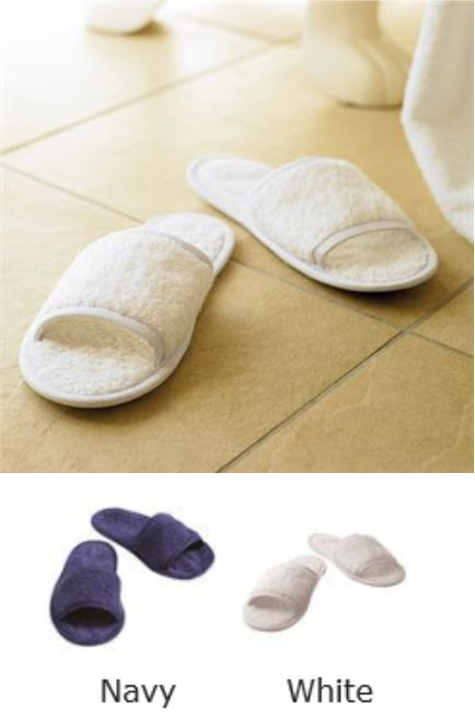 Towel City TC064 Classic Terry Slippers
