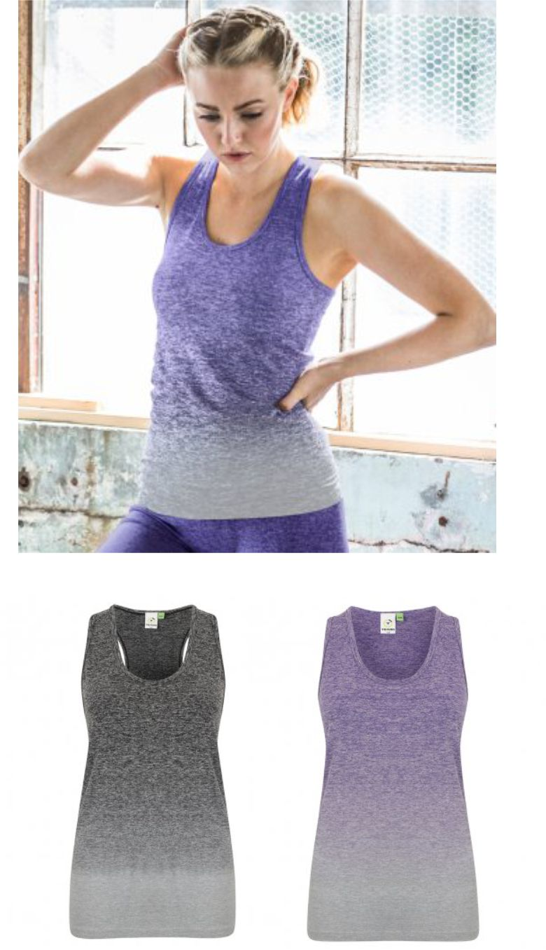 TL302 Tombo Ladies Seamless Fade out Vest