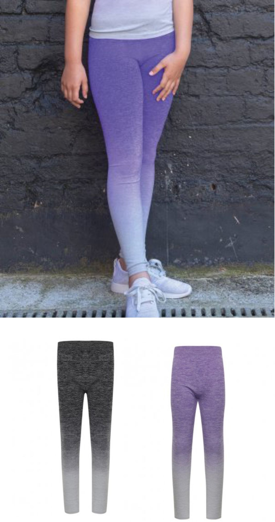 Tombo TL320 Kis Seamless Fade Out Leggings