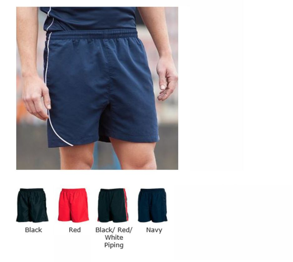 Tombo TL81 Teamwear Lined Performance Shorts