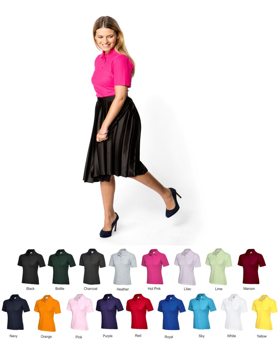 Uneek UC106 Lady Fit Polo Shirt