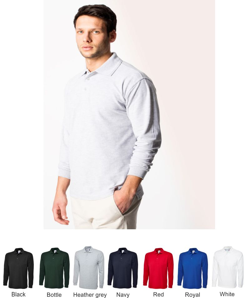 Uneek UC113 Long Sleeve Polo
