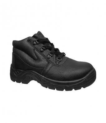 Warrior WR102 Steel Toe Chukka Boots